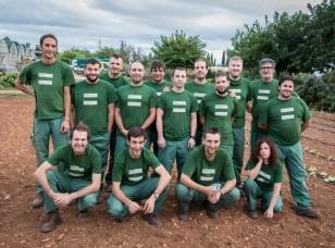 """El curso de FPO """"Actividades Auxiliares de Agricultura"""" llegando a la recta final antes de las prácticas profesionales"""