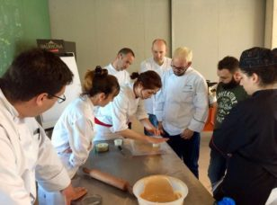Sandra Ornelas, Pastry chef Valrhona Spain, en Esment Escola Professional