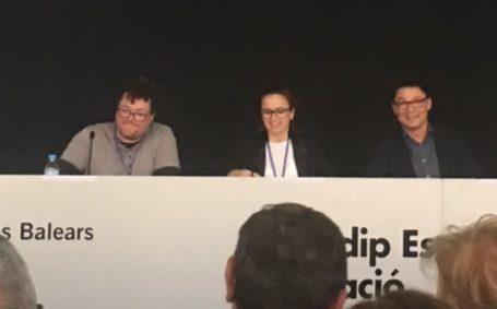 Marga Coll, Oriol Balaguer y Óscar Martínez en #CongresoConfianza2017