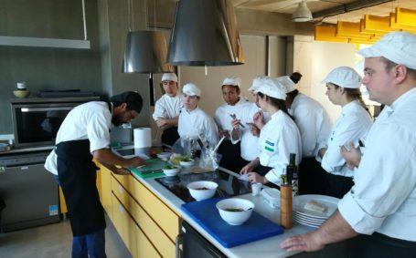 Clase magistral con el chef ejecutivo Lionel Carrasqueira