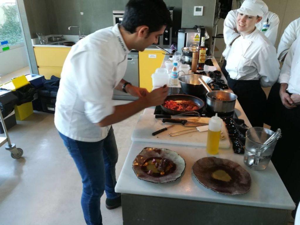 Andreu Genestra, cocinamos contigo.