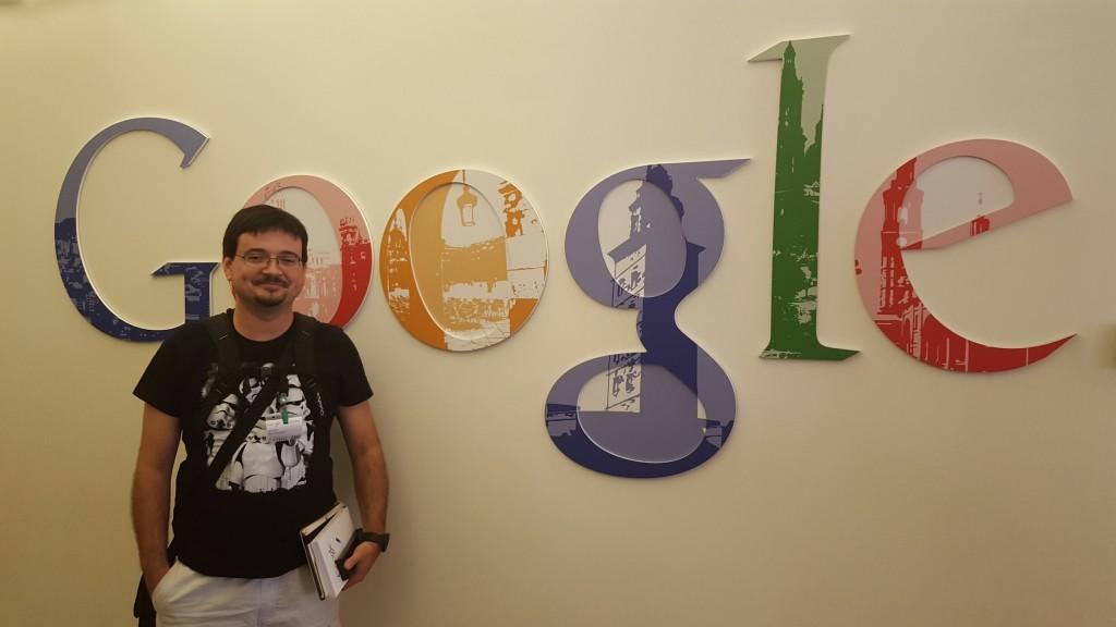 Visita a Google Madrid