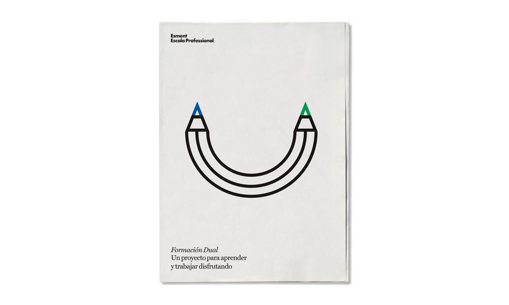 El folleto de Esment Escola Professional recibe el premio Laus Aporta 2015