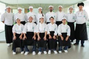 Promoción 2015-2016 curso Formación Dual Técnico de cocina