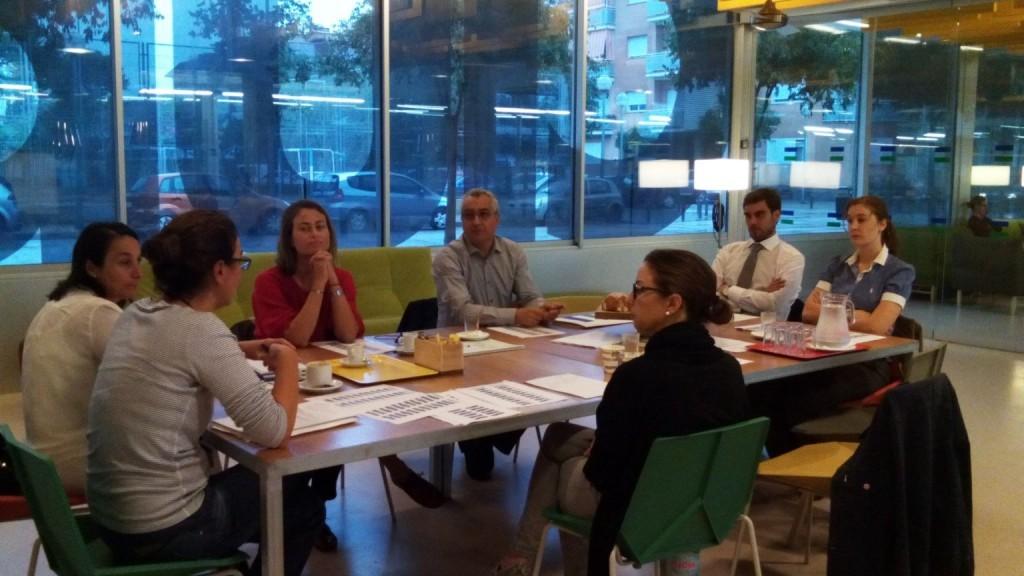 Reunión / desayuno de trabajo con empresas colaboradoras