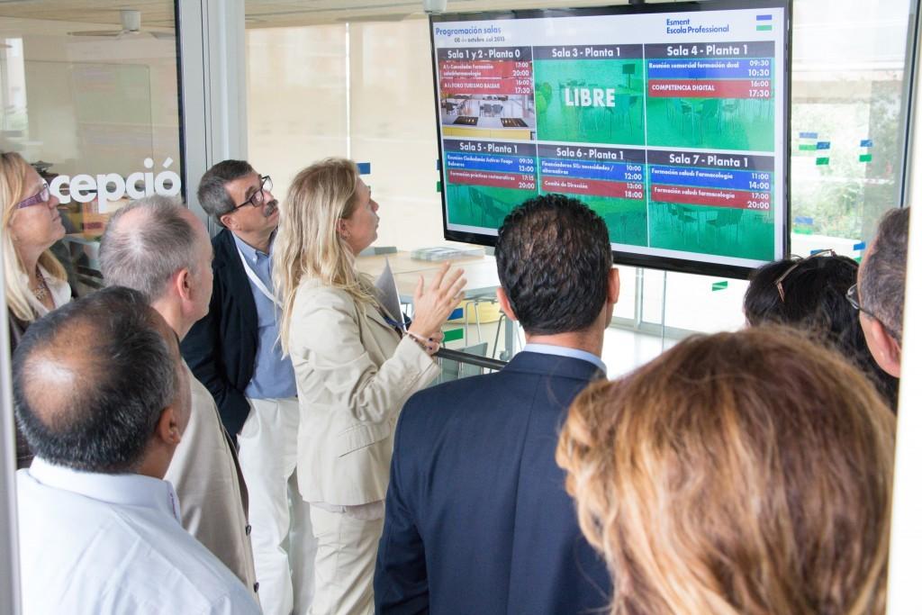 Los profesionales del Foro internacional AMFORHT-ANESTUR conocen el proyecto Esment Escola Professional