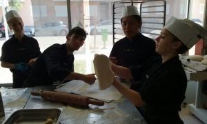 Especial Italia – elaborando pizzas  (Formación Dual cocina)