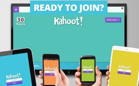 Utilizando Kahoot en las clases de inglés!
