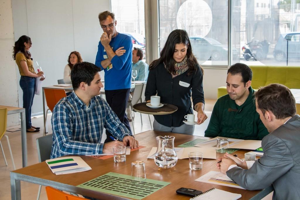 Responsables del área de RRHH de Meliá Hotels International colaboran en las pruebas actitudinales de los futuros aprendices de cocina