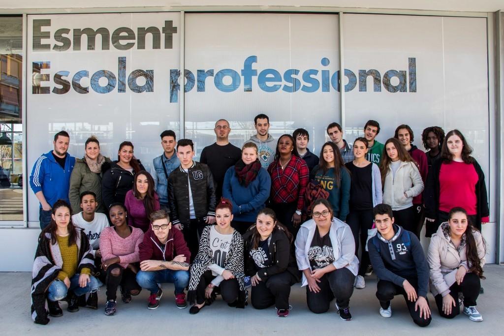 Jóvenes del programa PICE de la Cámara de comercio de Mallorca comienzan las clases en Esment Escola Professional