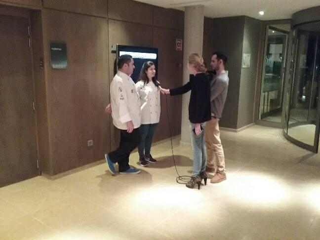Yurena llegó a tiempo con su plato en Protur Chef