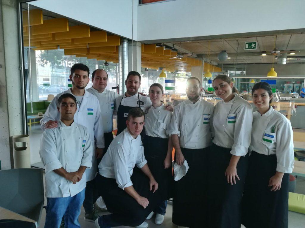 Formación en cocina al vacío con Estiven Arráez León