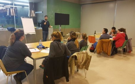 Clase magistral con Daniel Arias Pérez, Presidente de la Asociación de Somelliers Baleares