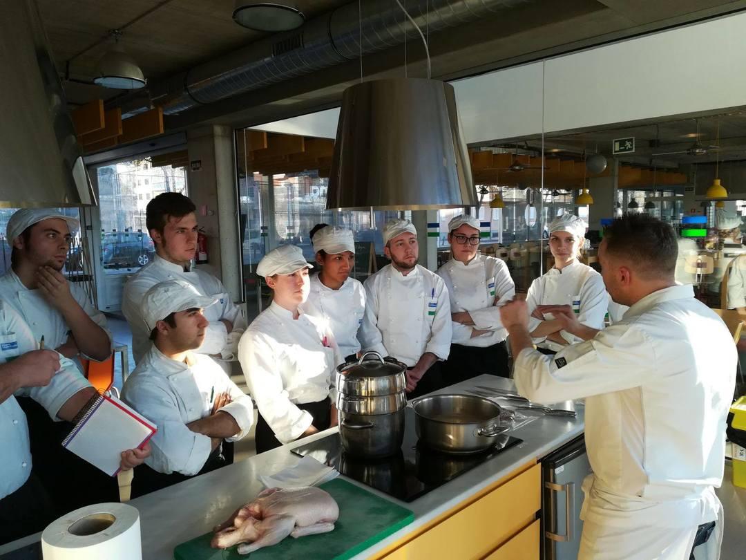 Clase magistral con el Executive Chef Tomeu Martí