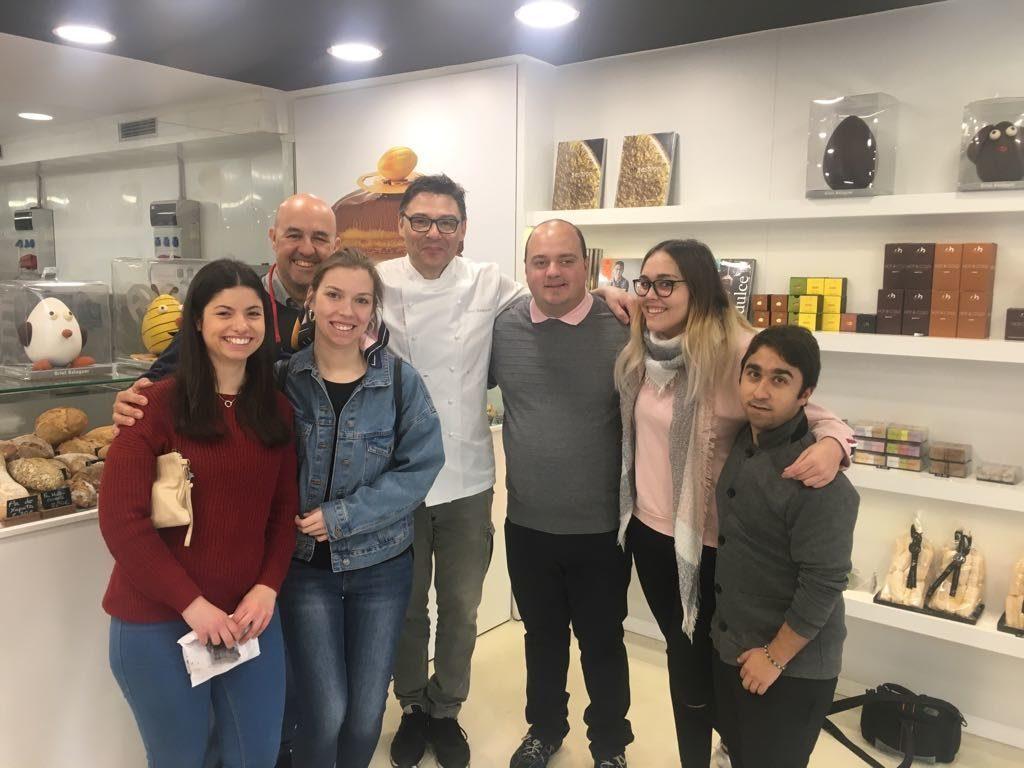 Viaje de fin de curso a Barcelona de la promoción 1 de Formación Dual – cocina