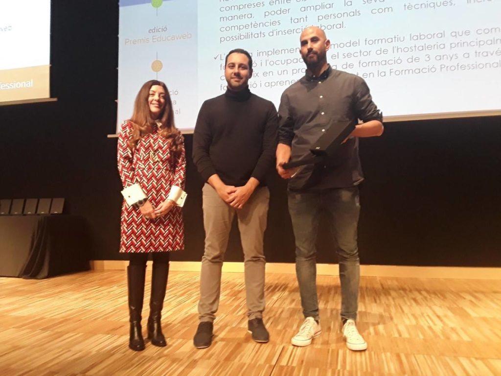 Esment Escola Professional recibe el premio Educaweb de Orientación Académica y Profesional