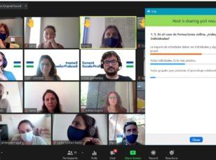 40 profesionales realizan el curso de Teleformación